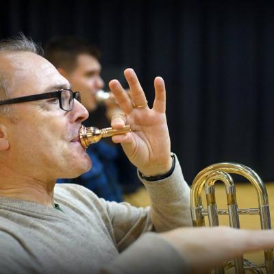 Masterclass  Sanganxa (ES) avec les trombonistes de la banda de Carçer Valencia.Octobre 2015