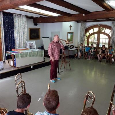 Masterclass Académie Musicale de Trombone d'Alsace 2015