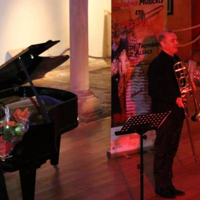Récital Festival de Trombone d'Alsace 2015
