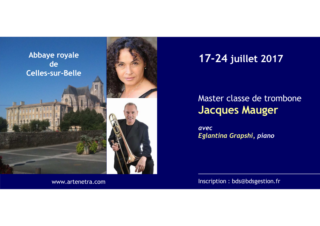 Annonce master classe jacques mauger page 1
