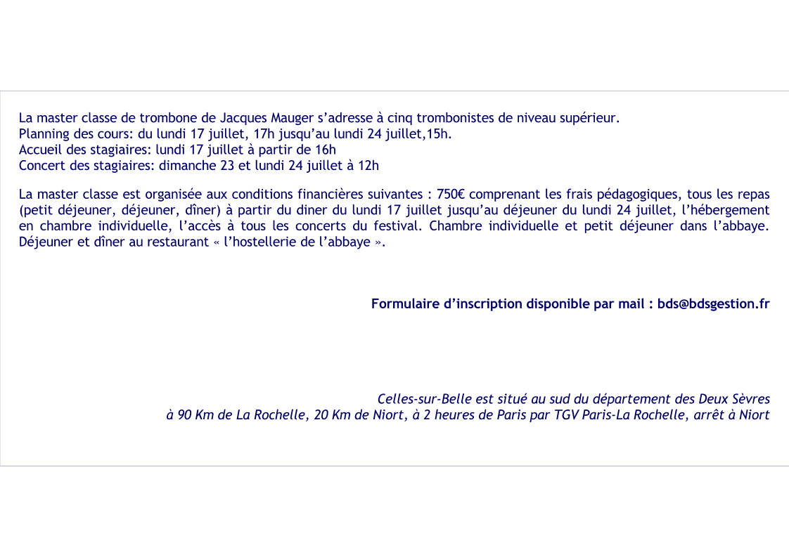 Annonce master classe jacques mauger page 2